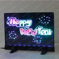 【批发】索彩Tb3626-K 台式黑体LED荧光板 荧光屏 电子POP牌 手写荧光板