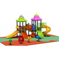供应2014正品新款幼儿园柏鑫奇组合滑梯 室外幼儿园大型滑梯
