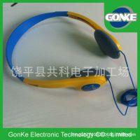 耳机工厂 特价头戴式耳机 航空耳机 广告赠品耳机耳麦 可印logo