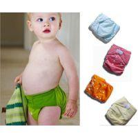 纳米抗菌婴儿尿裤 宝宝布尿裤 儿童尿布兜尿布裤 可调节隔尿裤