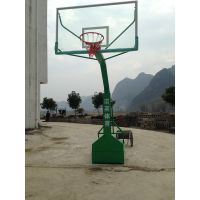 供应百色奥龙美移动式国标篮球架