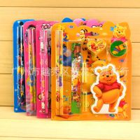 批发创意韩国学习文具组合 学生用品生日礼物 礼盒套装迪士尼儿童