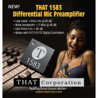 专业音响ic TAHT1583 音频前置放大芯片 麦克风前置放大芯片 THAT1583集成电路