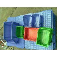 东莞塑胶厂直销组立式零件盒,插柱式斜口塑料盒多种款式供选