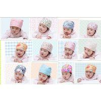 单个包装 外单儿童卡通海盗帽 宝宝时尚燕子帽打结帽 婴儿童帽