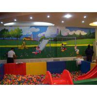深圳新佳豪幼儿园墙体彩绘,精美绘制物美价廉