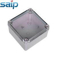 厂家直销125*125*100透明盖防水盒 防水接线盒 电缆接线盒