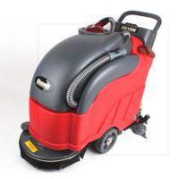 无锡克力威全自动洗地机销售,工厂车间洗地拖地机