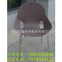厂家供应塑胶椅 塑料椅子 钢塑椅 室内外休闲塑胶椅 餐厅塑胶椅