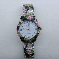 速卖通外贸爆款 Geneva日内瓦品牌手表 印花钢带表 女士手表