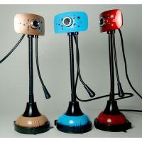 供应高品质酷逸摄像头 免驱高清电脑摄像头 QQ电脑视频 带麦克风夜视