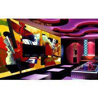KTV个性壁画 酒吧装饰壁画 深圳KTV主题墙纸壁画厂家