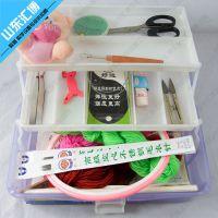 编织绣工具(19件套)高配A   编织绣工具套装
