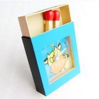 创意小礼品送学生公司活动送员工 时尚复古火柴盒闹钟家居日用品