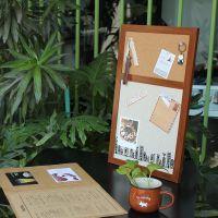 厂家直供 涂鸦印花软木布艺留言板 电表箱 软木装饰板 家居板礼品
