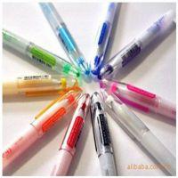 韩国文具批发 布丁笔|照片笔|指甲笔10色装8112