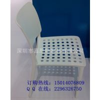 新款一体塑胶椅  会客椅子 学生椅 JST-P-027