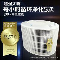 阿蓝德 大嘴空气净化器 HEPA负离子除甲醛/烟尘/PM2.5 家用特价