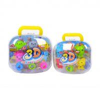 奇妙多【满优惠】儿童益智玩具12色3D超轻彩泥套装批发送工具8118