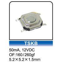 轻触开关 原厂供应贴片(SMD)5*5*1.5高寿命轻触开关/ROHS/TSKB