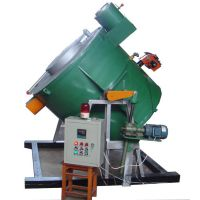 GQ 150倾斜式燃气熔铝炉 万能佳加热坩埚优质配置经久耐用