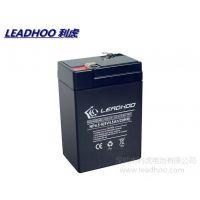 供应利虎 免维护 铅本酸 蓄电池 6V4AH 4.5AH 5AH 充电电池