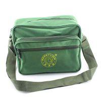 小型工具袋 单肩式工具包 军色电工袋 绿色帆布 维修包 背包