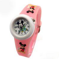 香港迪士尼儿童手表 儿童硅胶手表 环保硅胶卡通礼品手表学生手表