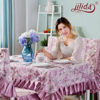 吉丽达2015新款花满园2号桌布餐桌布餐厅软饰 时尚家居厂家直批