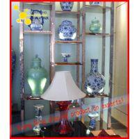 定制西安商场不锈钢文物展示柜,不锈钢收藏品展示柜