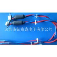 批发生产 25W3单卡大电流带锁线束 usb成型线束
