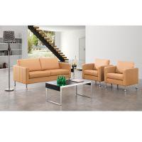 厂家批发 办公沙发 西皮接待会客办公沙发组合 现代简约办公沙发
