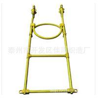 铝合金电力用软梯头 挂式软梯头 得力牌绝缘软梯头 价格仅供参考