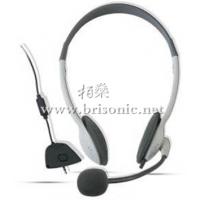 供应工厂直销热卖2014新款 XBOX360 头戴式游戏耳机 价格便宜时尚轻巧