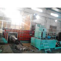 供应江阴250吨、315吨加大料箱废金属液压打包机