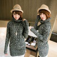 2014新款秋装 高领长袖女装毛衣 复古麻花女士 针织衫