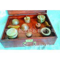 泗滨扁鹊砭石新型拔罐 新一套8罐1锥1板 好刮痧板材料做好拔罐