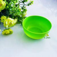 彩色塑料碗 儿童吃饭碗 家用汤面碗 防瓷餐具 一元店地摊爆款热卖
