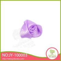 三角玫瑰 服装辅料 织带内衣小花 织带花饰 手工加工