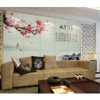 广西电视背景墙发展所要用到的印花机器瓷砖打印机