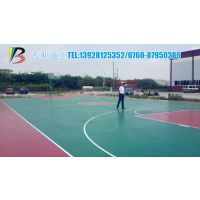 珠海大金鼎篮球场地面改造计划,塑胶丙烯酸篮球场的应用范围/篮球场地面制作