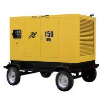 150KW移动拖车式水冷柴油发电机,常州柴油发电机价格