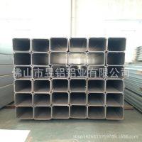 厂家供应80*80方管铝合金型材 可来图开模定制6063表面深加工铝合金型材
