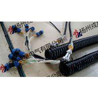 高品质弹簧线PUR螺旋电缆,权威机构认证