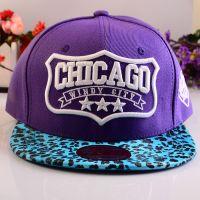 帽子EXO朴灿烈同款NBA芝加哥CHICAGO平沿棒球帽子男女 【BQM164】
