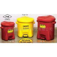 【消防设备】厂家直销 Eagle FM认证高密度聚乙烯废油防火回收桶