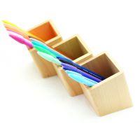 进口榉木笔筒 收纳筒 餐具筒 意境高雅 创意家居用 1PS价