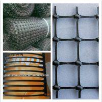 供应单向 双向塑料土工格栅/煤矿护帮网/支护网生产线