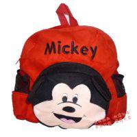 迪士尼米老鼠米奇儿童毛绒双肩背包 玩具逛街背包 幼儿园书包批发