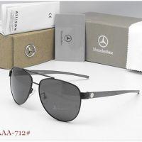 批发品牌太阳镜712男士偏光眼镜 内镀蓝膜司机镜 金属蛤蟆镜墨镜